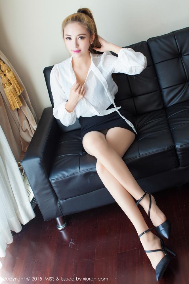 [IMISS爱蜜社] VOL.042 长腿OL陈思琪用气质征服BOSS