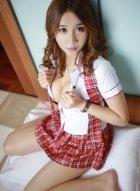 [模范学院] VOL.091 学生妹昆熙Quincey热辣制服写真展现姣好身材